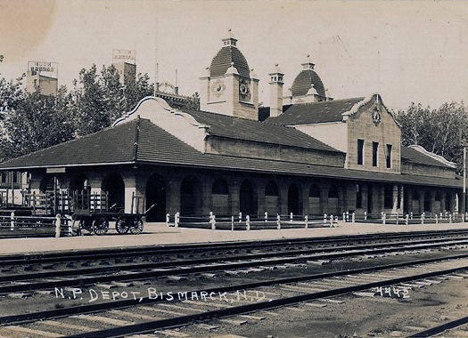 Northern Pacific Railroad Depot - Bismarck, Bismarck, ND